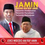 DAG :   Ma'ruf Amin Cawapres Jokowi, Bukti Kebhinnekaan Indonesia