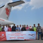Wings Air Layanani Penerbangan Reguler Batam Letung