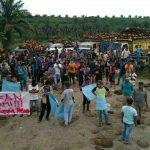 Pemuda Desa Sekar Mengkuang Kembali Seruduk kantor PT. Jamika Raya