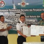 Bakamla dan Pemkab Natuna Tanda Tangani Mou Keamanan Laut Natuna