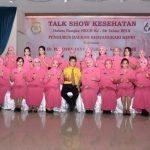 Talk Show Kehatan Dalam Rangka HKGB ke 66, Bayangkari Kepri Hadirkan Pembicara Dr Boyke