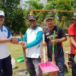 Karyawan BP Batam Lakukan Goro Rangkaian Bulan Bakti ke 47