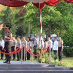 Polda Kepri Gelar Upacara Hari Olah Raga Nasional 35, Sampaikan Amanah Menteri Olahraga