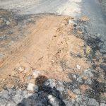 Baru dibangun, Jalan Padang Lamo Asal Sudah Rusak