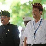 Deklarasi Sakenan, Menko Luhut Ajak Masyarakat Jaga Bali dari Sampah