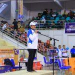 Kepala BP Batam Ir Lukita Dinarsyah Tuwo Buka Kompetisi Basket dan Ceerleaders Antar Pelajar