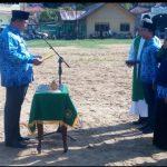 Bupati Abdul Haris Pimpin Apel Personil dan Sarpras Penanggulangan Bencana