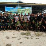 Lanal TBK Tanam 600 Bibit Pohon Mangga Dan Jambu