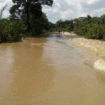 Banjir Kiriman Sungai Jujuhan, Jalan Utama Jujuhan Ilir Lumpuh Total