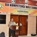 Polres Tanjungpinang Fasilitasi UKW Bagi 40 Wartawan
