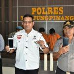 Polres Tanjungpinang Ungkap Tindak Kejahatan Jamberet
