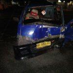 Kecelakaan di Depan Mapolres Karimun, Dua Korban dilarikan ke Rumah Sakit