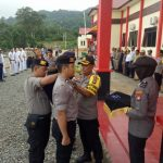 Polres Anambas Gelar Apel Pasukan Operasi Lilin, Kapolres Sampaikan Amanat Kapolri