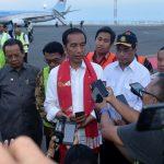 Jokowi Sampaikan Turut Berduka Atas Korban Tsunami