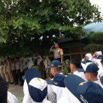 Polsek Meral Gandeng Siswa SMPN 01 Meral, Deklarasi Keselamatan Lalin