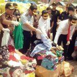 Gabungan TNI Polri, Gagalkan Penyelundupan Bakes Senilai Rp1,5 Miliar