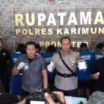 Polres Karimun Per Januari Tangani 8 Kasus Tindak Pidana Narkoba