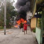Gudang Berisi 30 Drum Minyak Ludes Terbakar