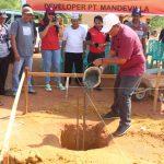 PT. Mandevilla Letakan Batu Pertama Perumahan Subsidi