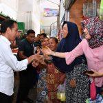 Presiden Jokowi Sambangi Pasar Pelem Gading Cilacap