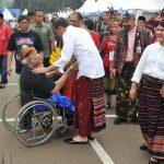 Festival Sarung, Presiden Kagumi Keragaman Sarung Indonesia