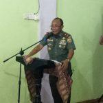 Sosialisasi Wawasan Kebangsaan, Danrem 033/WP Brigjen TNI Gabriel Minta Masyarakat Tingkatkan Silaturahim