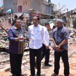 Presiden Jokowi Bantu Perbaikan Rumah Warga Terkena Bom Sibolga