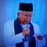 Penampilan KH Maruf Amin debat Cawapres Tampil Memukau