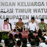 Silaturahmi di Ponpes Darussalam, Presiden Ajak Semua Pihak Jaga Ukhuwah