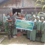 Persit Chandra Kirana Kodim 0115 Peduli Masyarakat Kurang Mampu