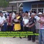 Masyarakat Pulau Gadang XII Koto Kampar (Riau) Mendukung Jokowi Maruf Amin