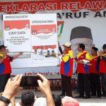 Deklarasi Dukungan Jokowi Amin Dihadiri Ribuan Masyarakat