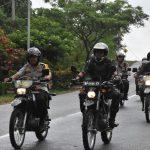 Gabungan TNI Polri Lakukan Patroli Skala Besar
