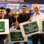 bright PLN Batam Rebut Juara 3, Adhya Tirta Batam Cup X Championship 2019
