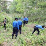 Ditpam BP Batam Tertibkan Penggarap lahan Kawasan Waduk Duriangkang