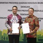 Gubernur Bengkulu dan DKI Jakarta Teken MOU Kerjasama