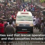 Korban Ledakan Bom Srilanka 290 Orang Tewas dan Korban Luka 450 Jiwa