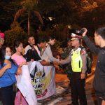 Masa Tenang, Personil TNI POLRI Laksanakan Patroli Skala Besar