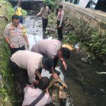 Kegiatan Bersihkan Draenase Polres Tanjungpinang