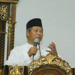 Safari Ramadhan, Bupati Haris Minta Warga Desa Siapkan Embung Antisipsi Kemarau