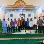 Tim Safari Ramadhan Pemkab  Anambas di Masjid Jami' Nurul Huda