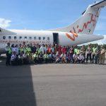 Wings Air uji Coba Penerbangan di Bandara Raja Haji Abdulah Karimun