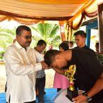 Bupati Rafiq Tinjau Pembangkit Listrik di Pulau Moro
