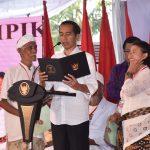 Presiden Awali Kunjungan di Bali Meninjau Pasar Sukawati