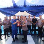 Pelayaran Perdana KP Yudistira 8003 Diawali Dengan Coffee Morning Bersama Kapolda Kepri