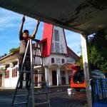 Goro Bakti Religi Polres Tanjungpinang, Bersihkan Rumah Ibadah