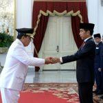 Presiden Lantik Gubernur dan Wakil Gubernur Lampung