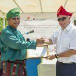 Premier Oil Serahkan Gedung Pusat Pelayanan dan Taman Baca Desa Balibak