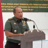 Kodim 0315/Bintan Gelar Komsos Bersama Aparatur Pemerintahan