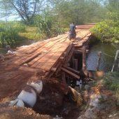 Jalan dan Jembatan Rusak Parah Kerap Menelan Korban, Warga Minta Pemerintah Segara Bangun
